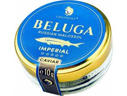 BELUGA - STURGEON CAVIAR IMPERIAL, 10g jar