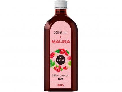 Sirup Malina 250 ml Leros