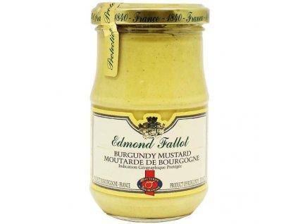 Edmond Fallot Burgundská hořčice IGP, 210g sklo