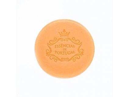 POMERANČ - přírodní kulaté mýdlo v papírové krabičce, 50g