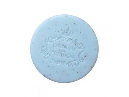 FIALKA A MERUŇKOVÉ JÁDRO - přírodní kulaté mýdlo v papírové krabičce, 50g