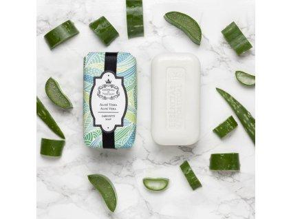ALOE VERA - přírodní mýdlo s extraktem z aloe vera, 150g