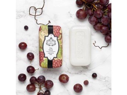 HROZNOVÉ VÍNO - přírodní mýdlo s olejem ze semínek z hroznového vína, 150g
