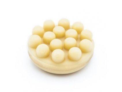BÍLÝ JASMÍN - masážní obličejové mýdlo s heřmánkem a měsíčkovým extraktem, 94g