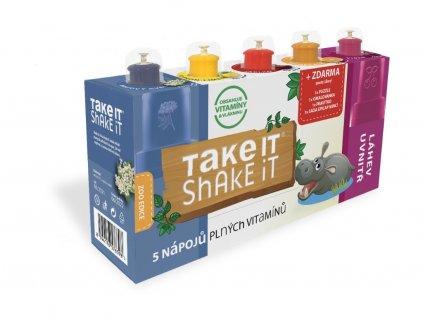 Take it shake it HROCH 5x20ml mix ovocný nápoj