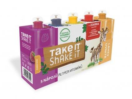 Take it shake it ŽIRAFA 5x20ml mix ovocný nápoj