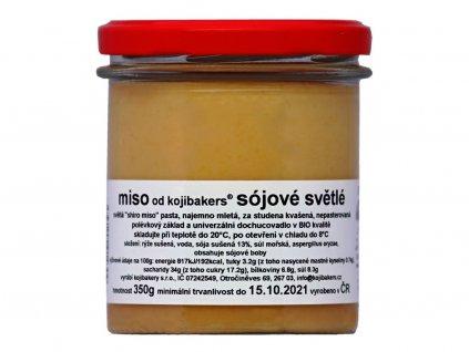 Bio Miso sójové světle 350g
