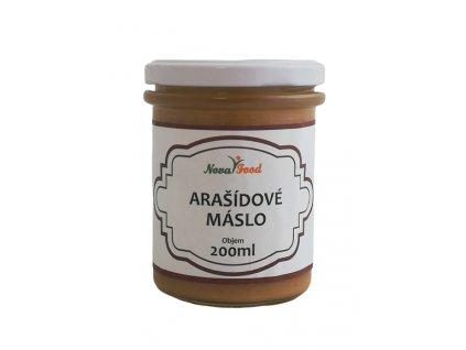 Arašídové máslo Novafood 200ml sklo