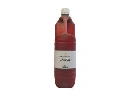 GASTRO Výběrový sirup  z celého ovoce JAHODA 1000ml NOVAFOOD