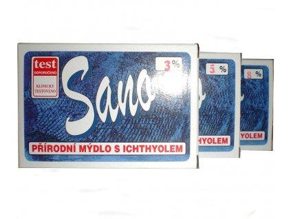 Sano mýdlo s ichtiolem 5% 100g Formerco