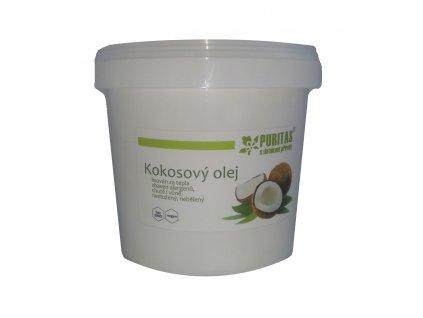 Kokosový olej Puritas® 1000ml kbelík  Kokosový olej