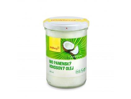Panenský kokosový olej BIO 400 ml Wolfberry