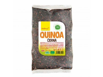 Quinoa černá BIO 500 g Wolfberry