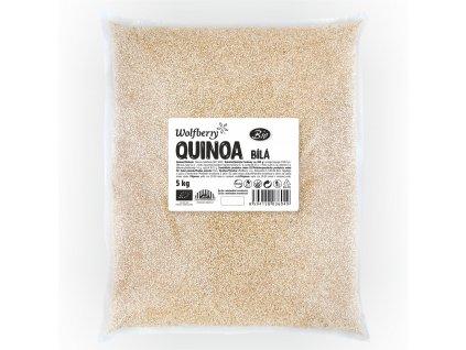 Quinoa bílá BIO 5 kg Wolfberry