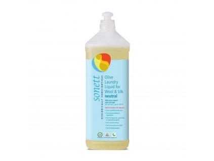 Olivový prací gel na vlnu a hedvábí 1 l Neutral Sonett