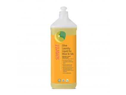 Olivový prací gel na vlnu a hedvábí 1 l Sonett
