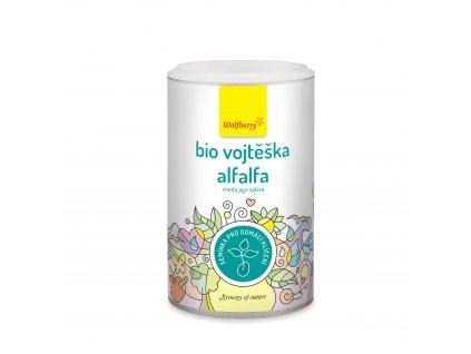Alfalfa semínka vojtěšky BIO semínka na klíčení 200 g Wolfberry