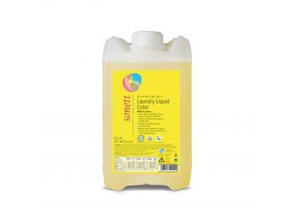 Prací gel na barevné prádlo COLOR Máta & Citron 5 l Sonett