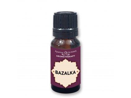 Bazalka 100% esenciální olej 10 ml Altevita