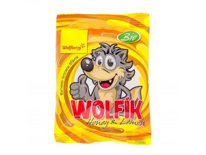 Wolfík Honey & Lemon 70 g Wolfberry