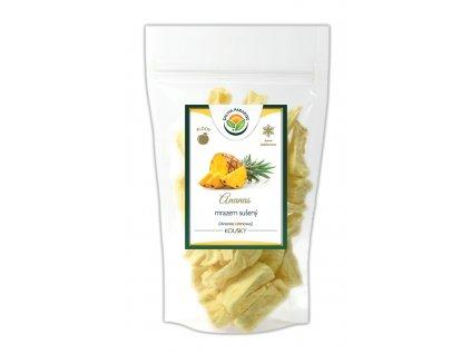 Ananas kousky sušené mrazem - lyofilizované Salvia Paradise