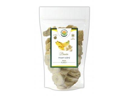 Banán plátky sušené mrazem - lyofilizované Salvia Paradise