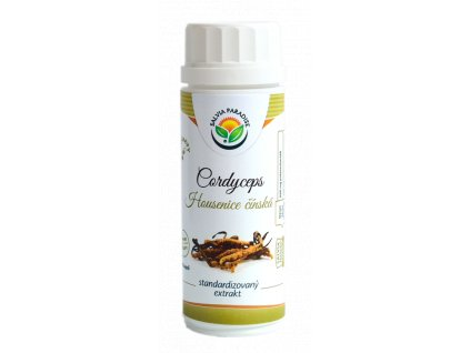 Cordyceps - housenice standardizovaný extrakt kapsle 100 ks Salvia Paradise