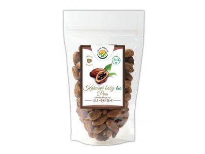 Kakaové boby nepražené celé neloupané Peru BIO Salvia Paradise