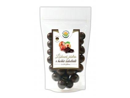 AKCE Lísková jádra v hořké čokoládě 300 Salvia Paradise
