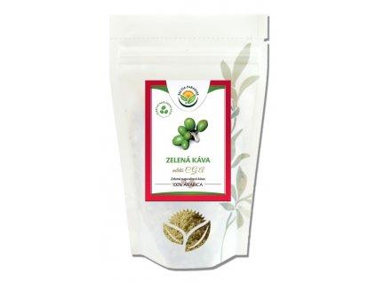 Zelená káva mletá CGA Salvia Paradise