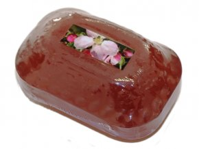 Přírodní kosmetické mýdlo glycerinové JABLOŇOVÝ KVĚT s mandlovým olejem 115g Formerco
