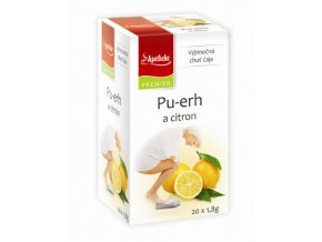 apotheke pu erh a citron 20x18g 007617