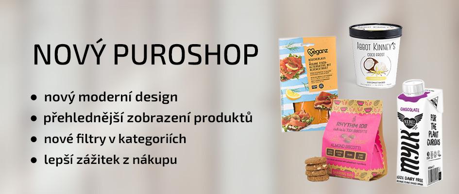 PURO shop spouští nový eshop - jednodušší a přehlednější.