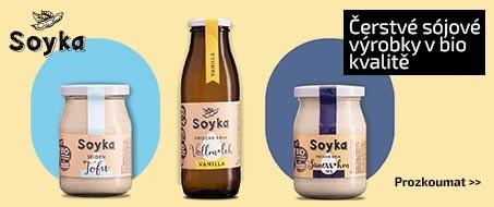 Soyka čerstvé sójové bio produkty