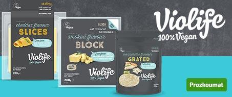 Violife sýrové alternativy z Řecka nově i v PURO shopu