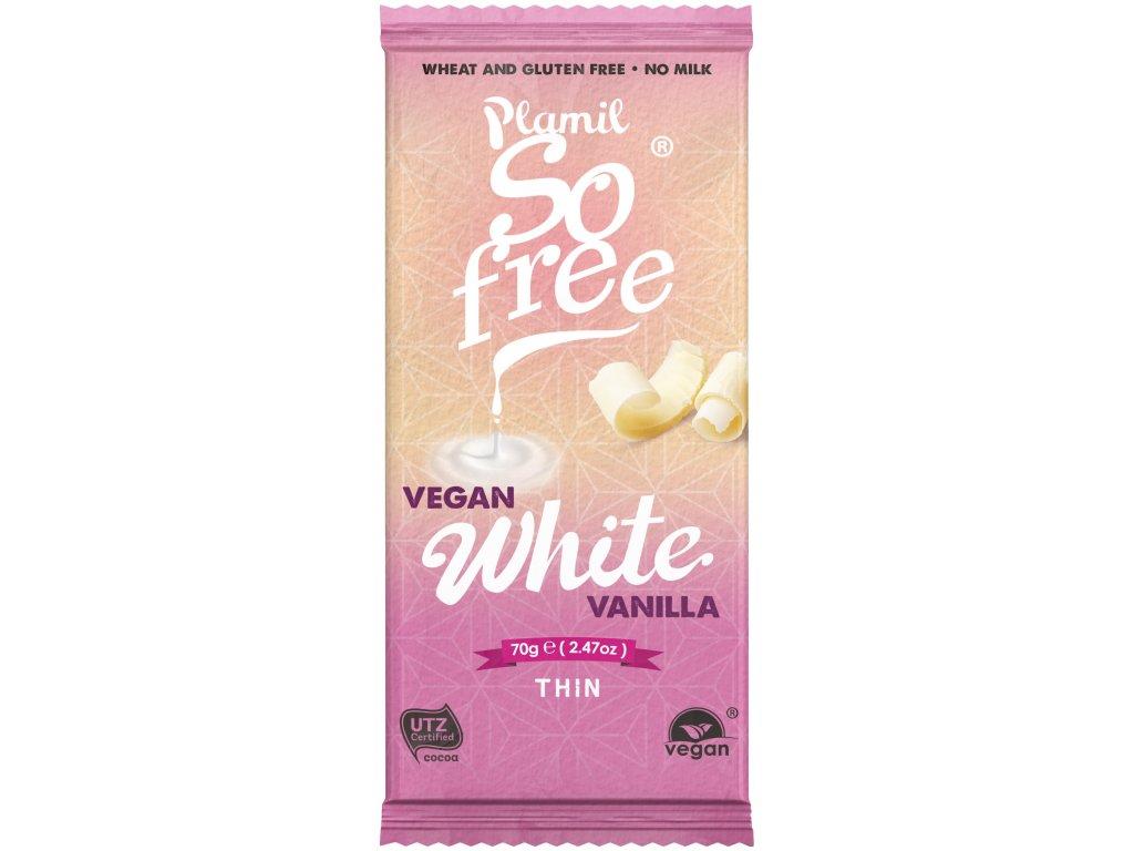 So Free bezmléčná alternativa bílé čokolády, Bio