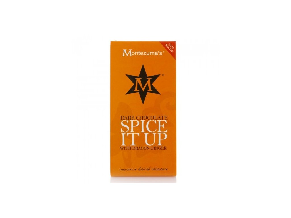 Hořká čokoláda Spice It Up se zázvorem