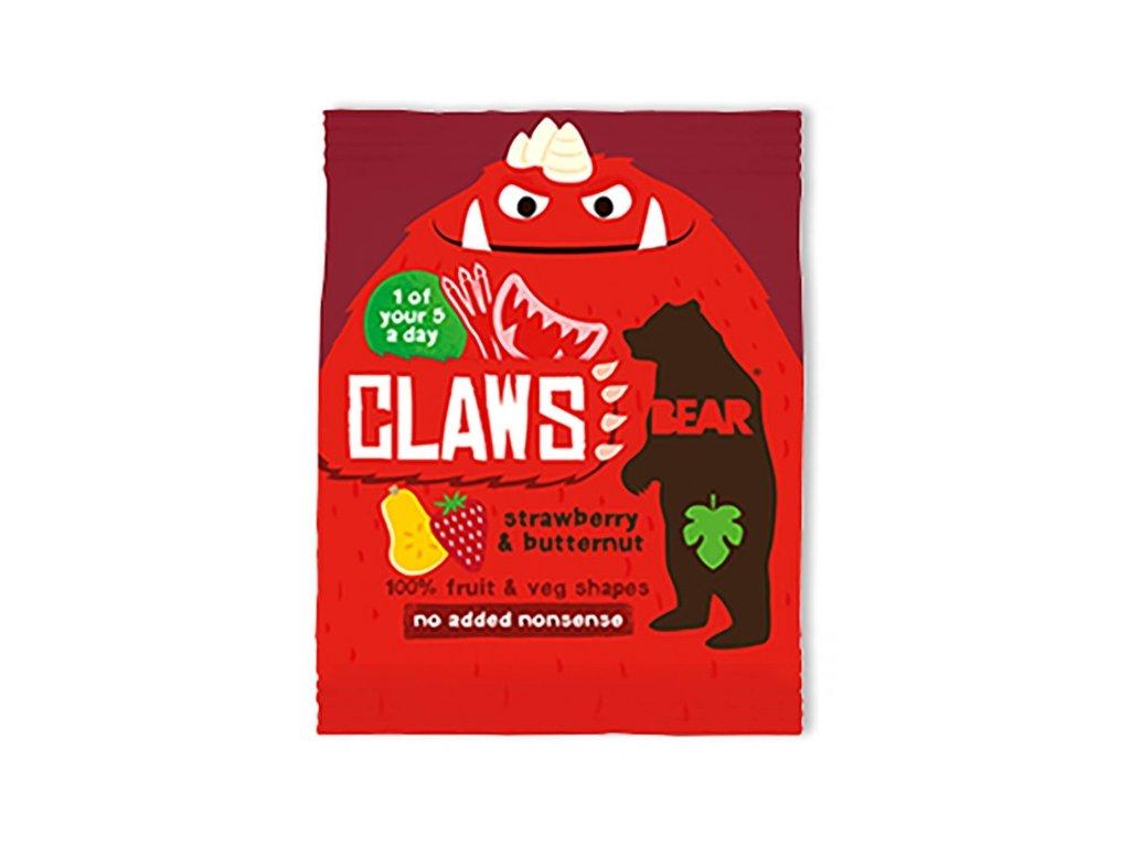 Bear drápky s jahodami