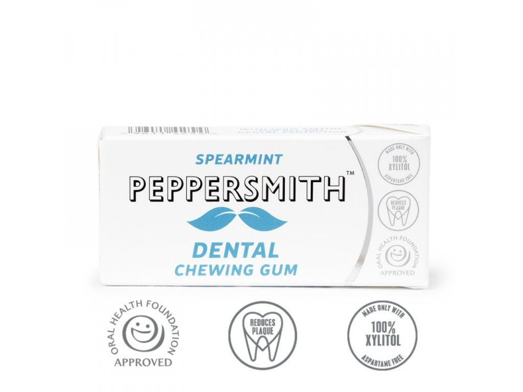 Žvýkačky Peppersmith Spearmint