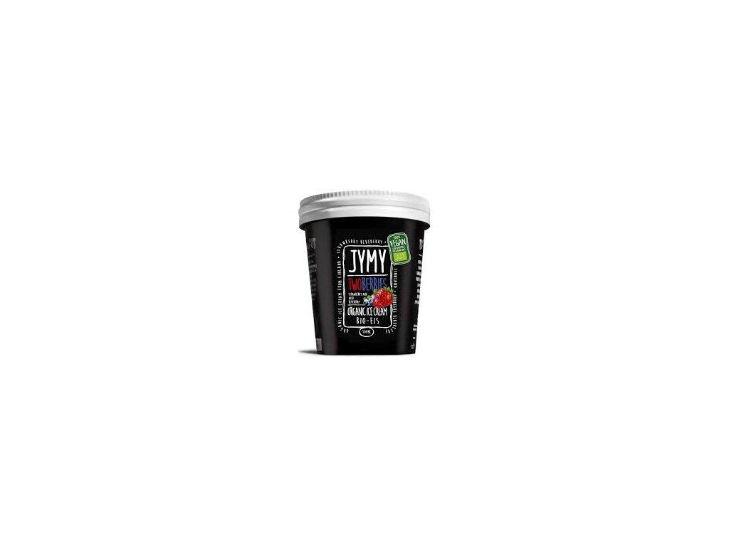 Jymy jahodovo borůvková zmrzlina, Bio