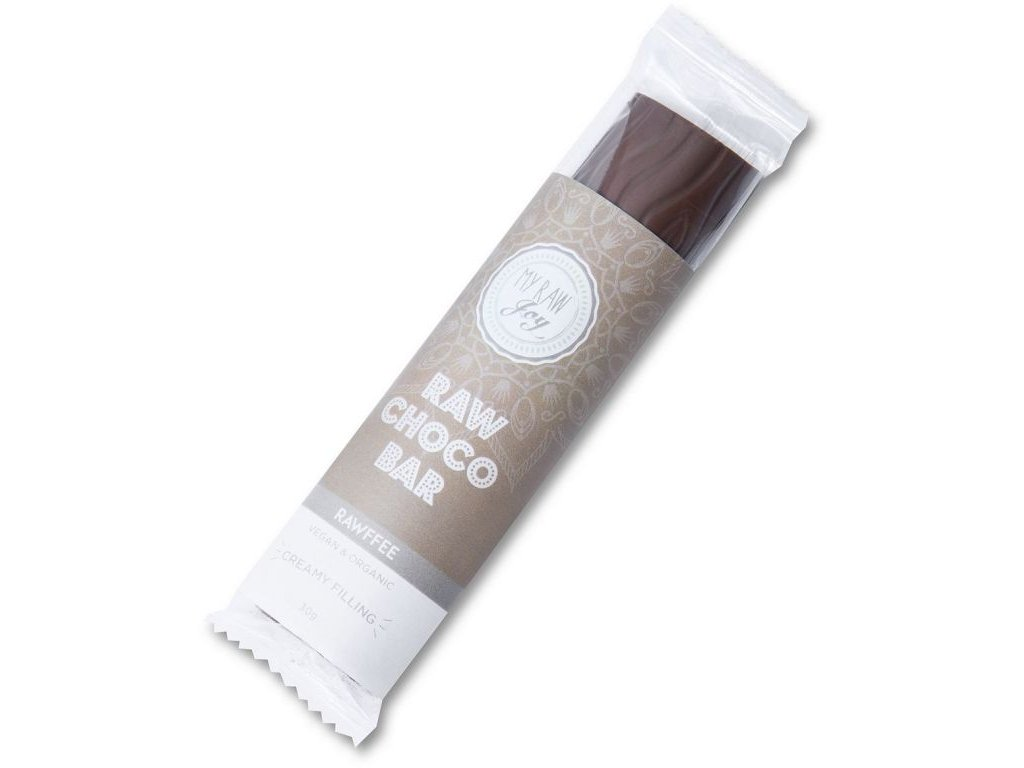 Raw čokoládová tyčinka rawfee, Bio