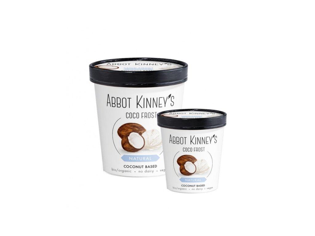 Abbot Kinney's kokosová zmrzlina, Bio