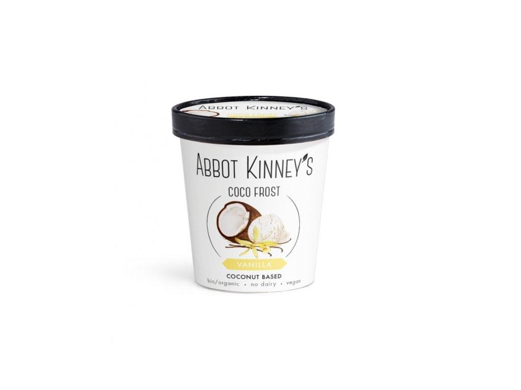 Abbot Kinney's vanilková zmrzlina, Bio