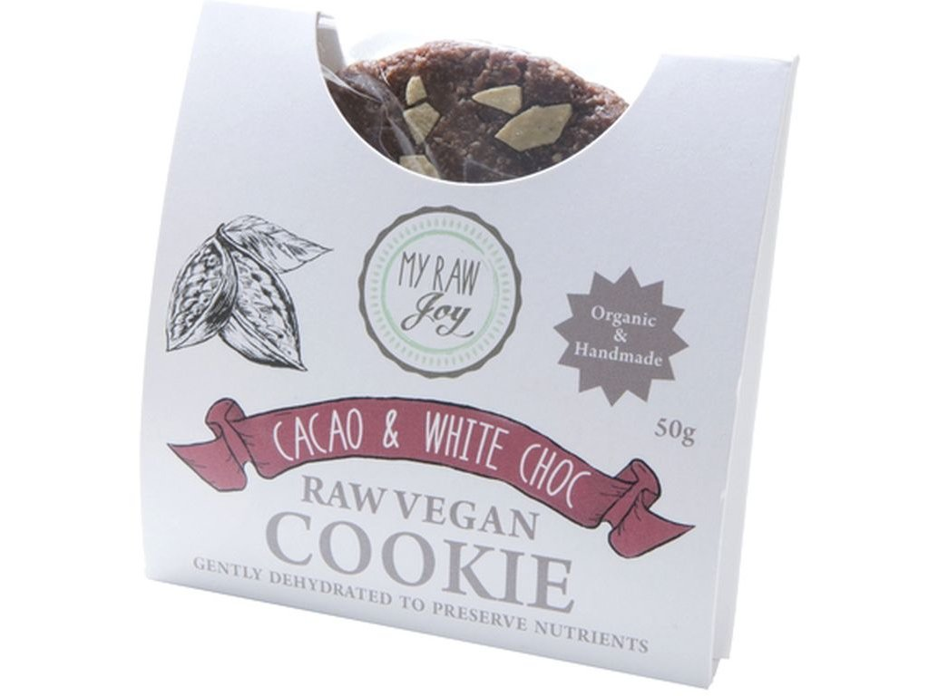 my raw joy raw kakaova susenka s bilymi coko kousky bio
