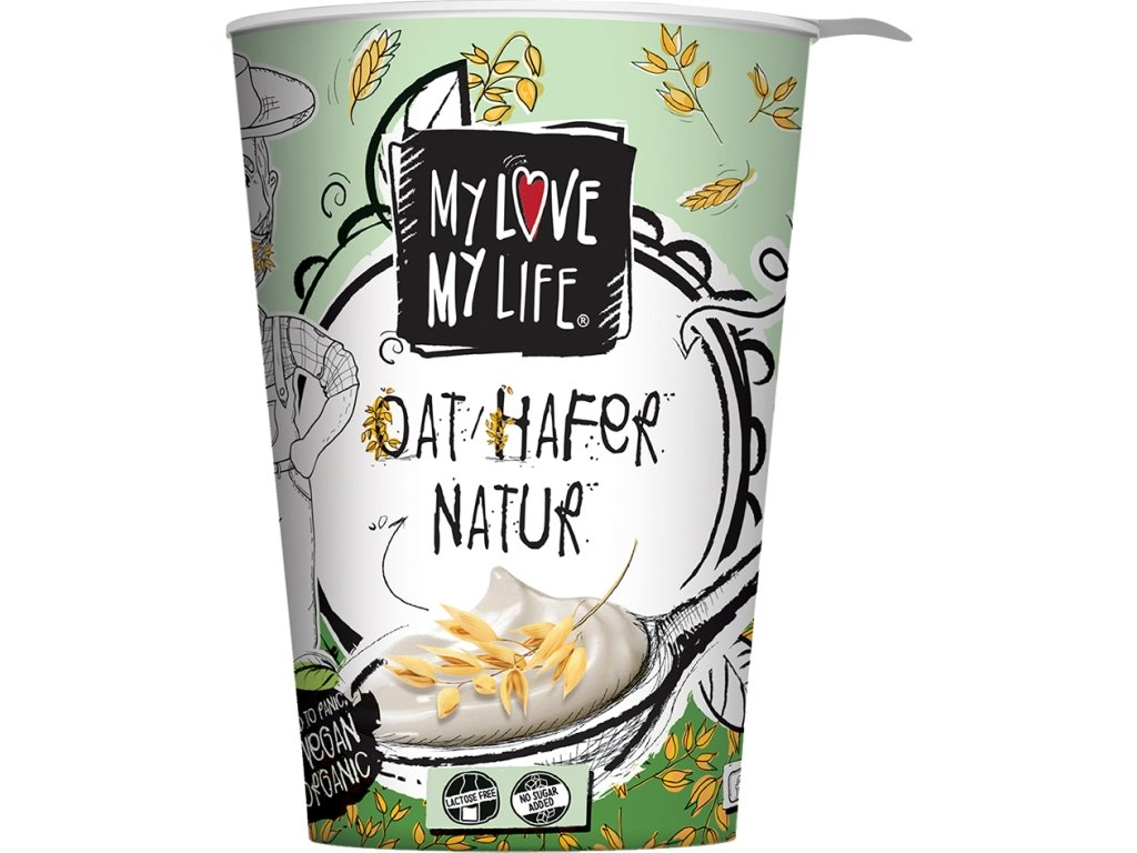 My Love My Life ovesny jogurt Bio
