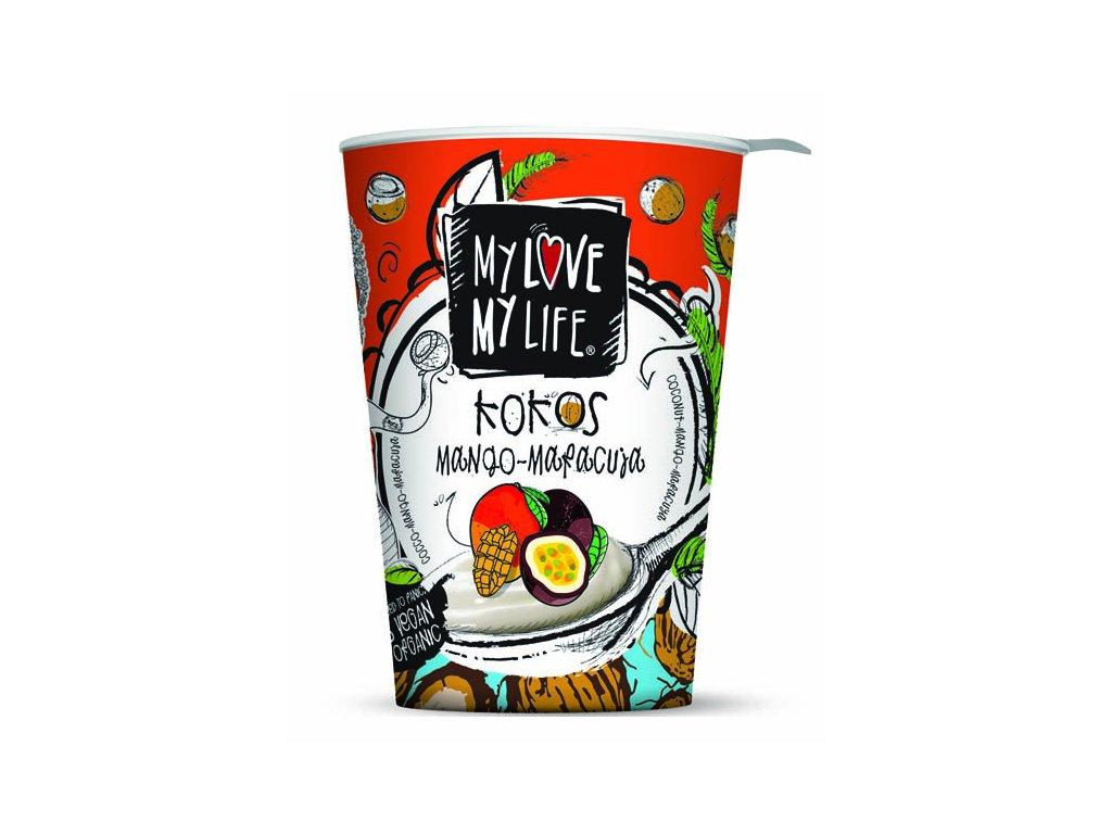 My Love My Life kokosovy jogurt mango marakuja Bio