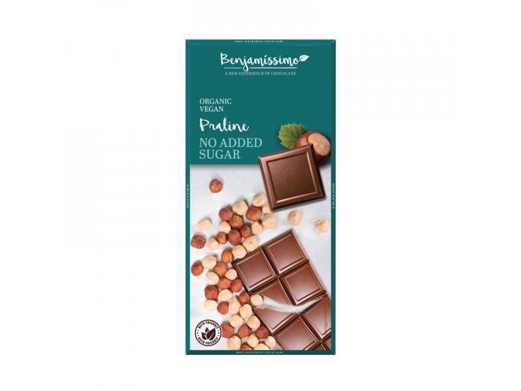 bio benjamin benjamissimo pralinkova cokolada bez cukru bio