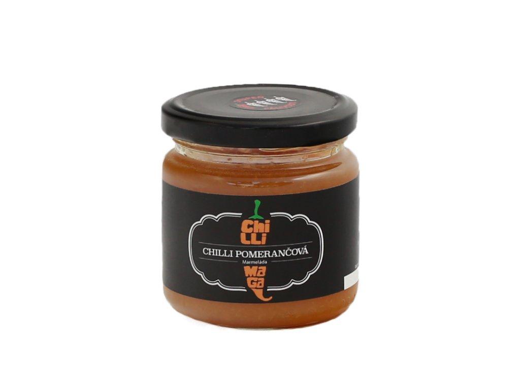 chillimaga chilli pomerancova marmelada
