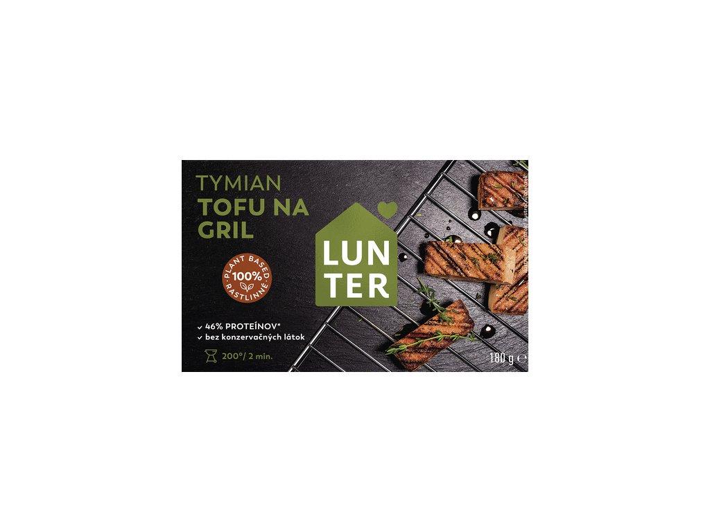 lunter tofu na gril tymian