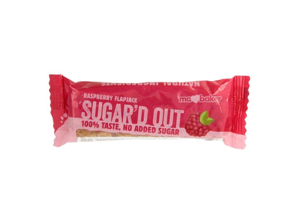 Sugar'd Out malinový flapjack bez cukru